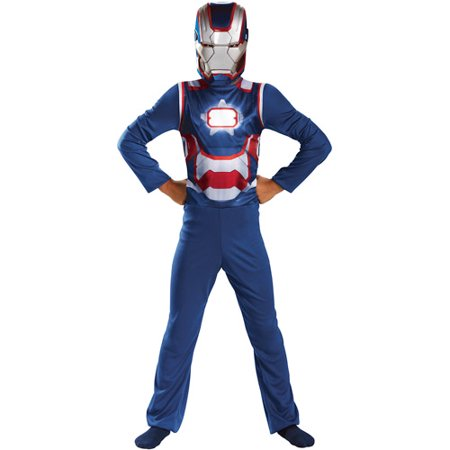 Iron Patriot Basic Child Costume Size 4-6 By Disguise Costumes