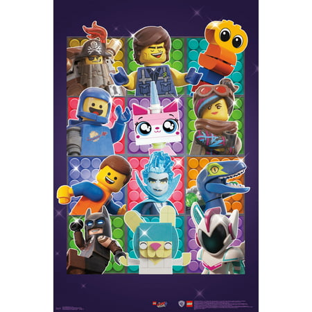 Logo Wall Decor - LEGO Movie 2 - Grid