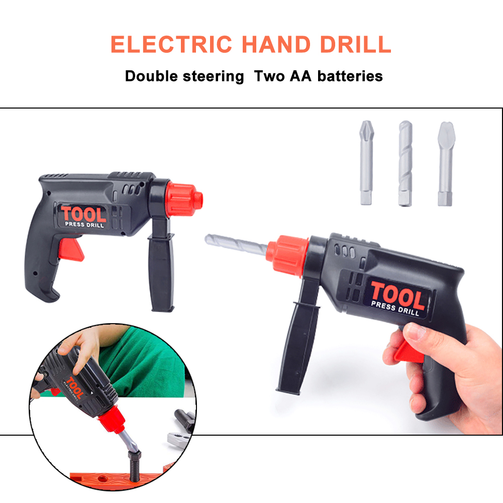 0db337780 Simulation Maintenance Kit, Children's Toolbox Set Simulation Repair Tool  Drill Screwdriver Repair Kit House play Toys Tool Set Puzzle Toy Set for  Boy and ...