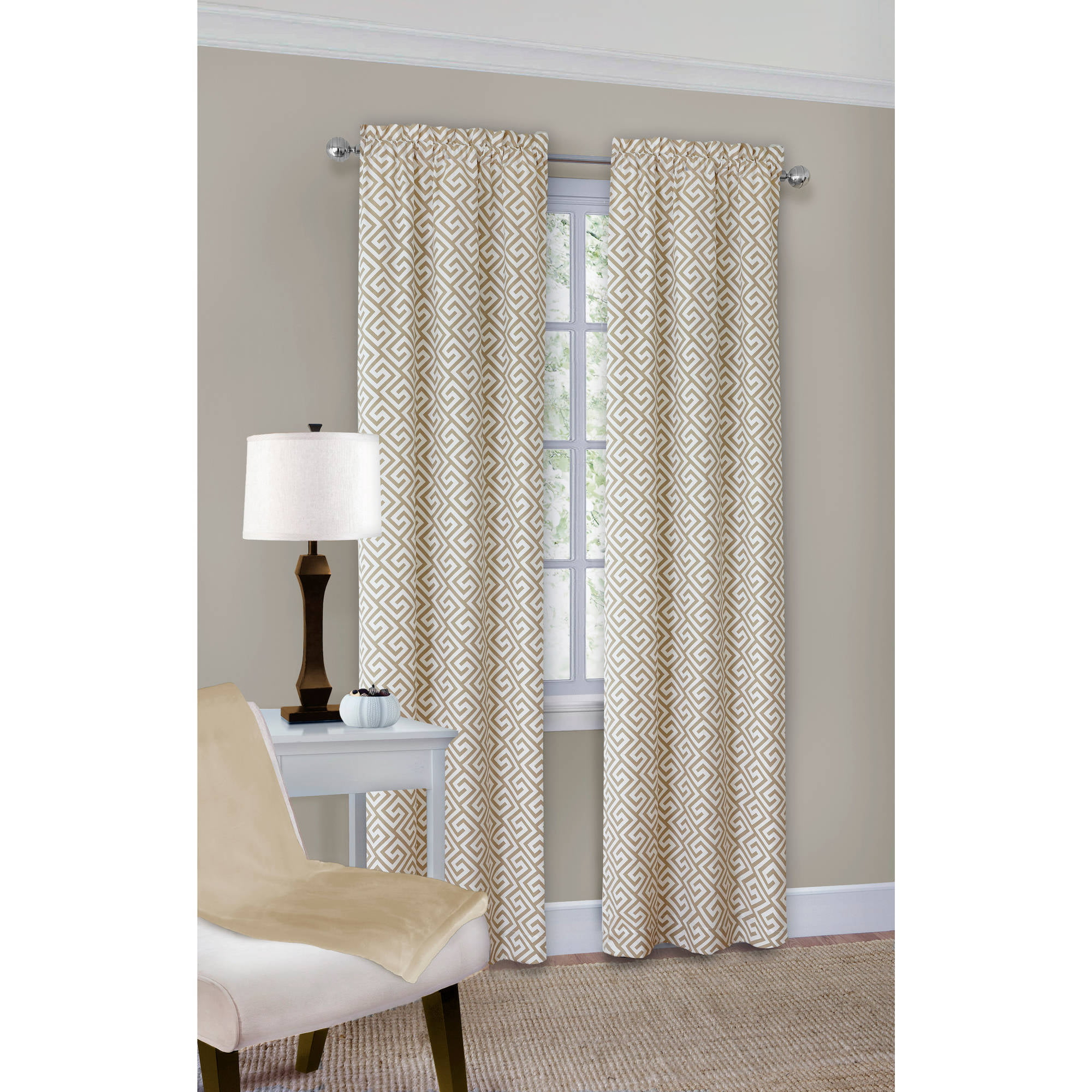5 Panel Window : Curtain panels at home territory