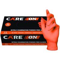 ON50020-XL-BX Orange Nitrile Exam Gloves, Powder-Free, 6 mil, Palm Textured, Latex-Free, Non Sterile, Ambidextrous, X-Large, Orange (Pack of 100)…