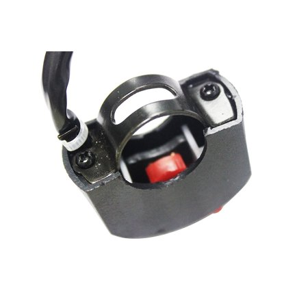 Motorcycle Bicycle Refit 22mm Handlebar Mounting Switch Button for LED Headlight - image 3 of 4