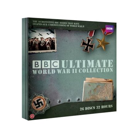 BBC Ultimate World War II Collection (10 Series) - 26-DVD Box Set ( The Road to War / The Nazis: A Warning from History / War of the Century / The Battle [ NON-USA FORMAT, PAL, Reg.2 Import - Sweden ]
