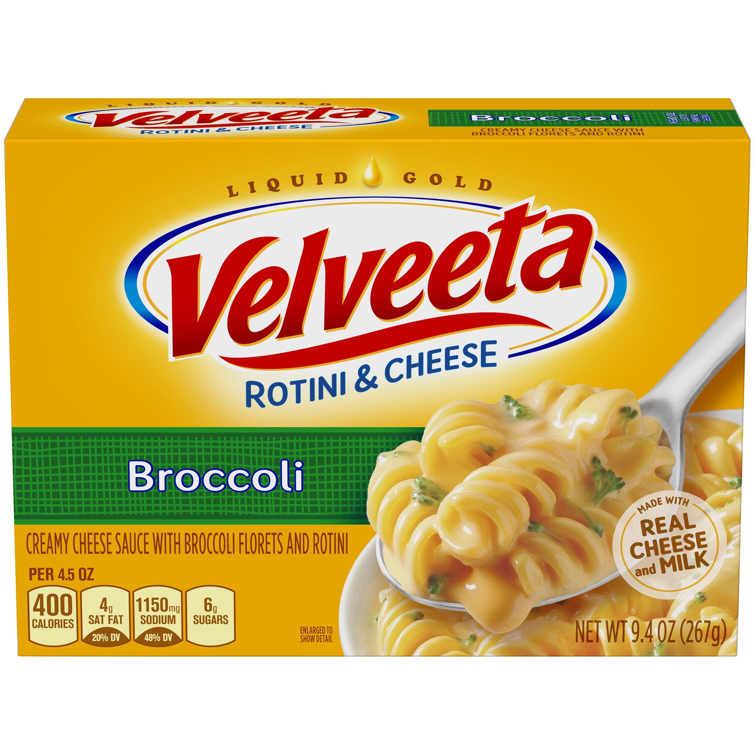 Velveeta Broccoli Rotini & Cheese 9.4 oz. Box