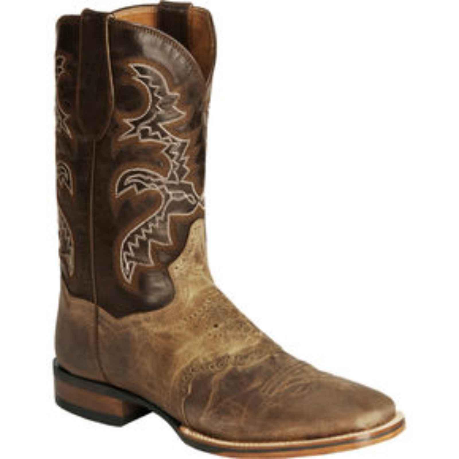 """Dan Post Men's 11"""" Tan Orange Ardmore Cowboy Boot Certified, DP4146 by DAN POST"""
