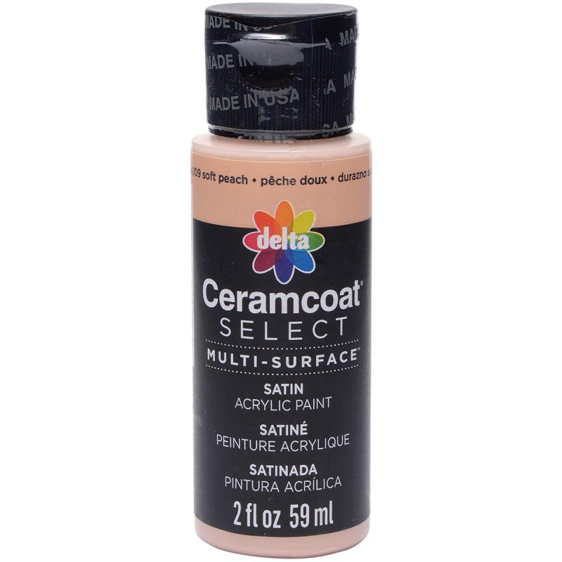 Ceramcoat Select Multi-surface Paint 2oz-soft Peach