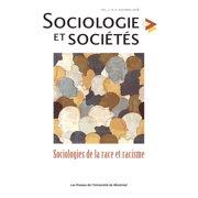 Sociologie et sociétés. Vol. 50 No. 2, Automne 2018 - eBook