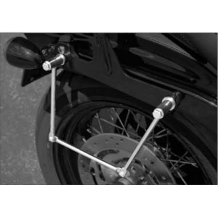 Castle Double Joint Bag Support Chrome/Silver (22-0101)
