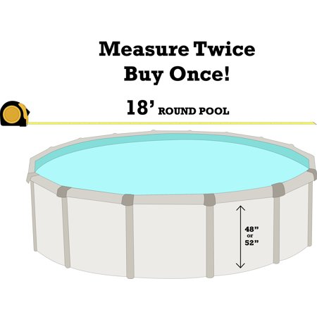 18 39 round solid blue overlap liner best pool liners for Installing pool liner in cold weather