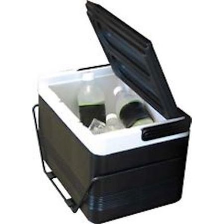 (12 Pack Golf Cart Cooler with Rear Fender Mounting Basket)