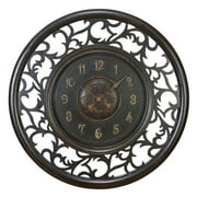 Aspire Home Accents Medieval 36 in. Wall Clock