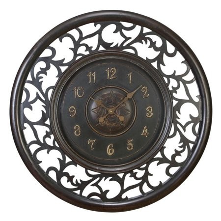 Aspire Home Accents Medieval 36 in. Wall Clock ()