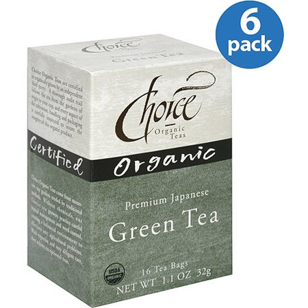Choice Organic Teas Japanese Green Tea Bags, 1.1 oz, (Pack of 6)