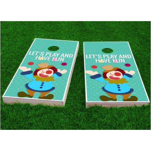 Custom Cornhole Boards Kids Theme Cornhole Game (Set of 2) by Custom Cornhole Boards