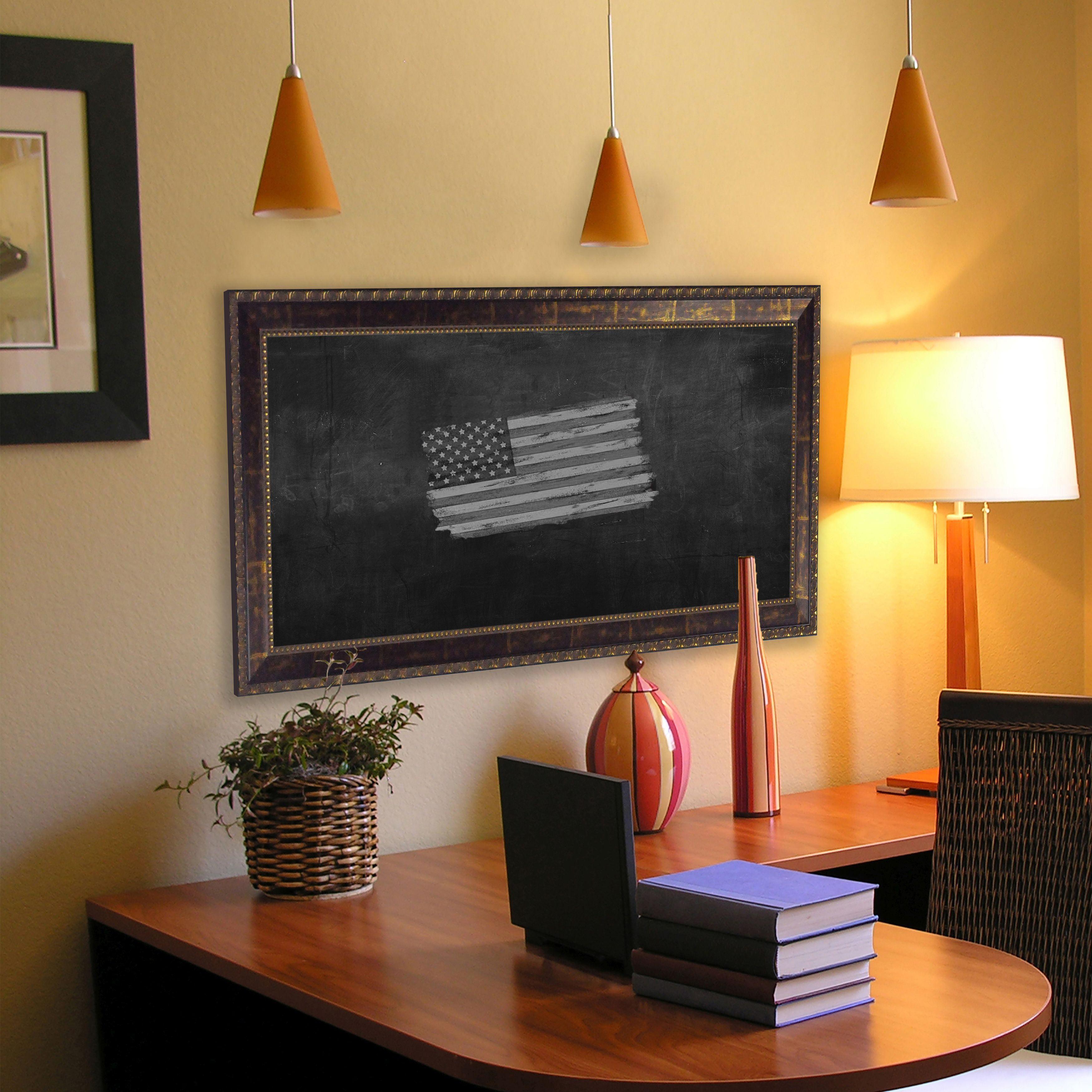 Rayne Mirrors American Made Rayne Roman Copper Bronze Blackboard/Chalkboard