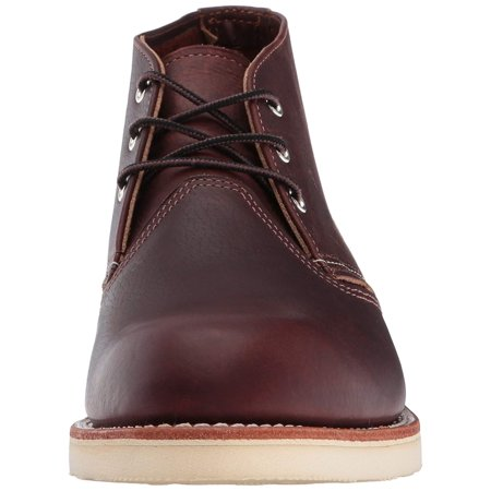 Red Wing 3141: Mens Heritage Work Chukka Briar Oil Slick Boots