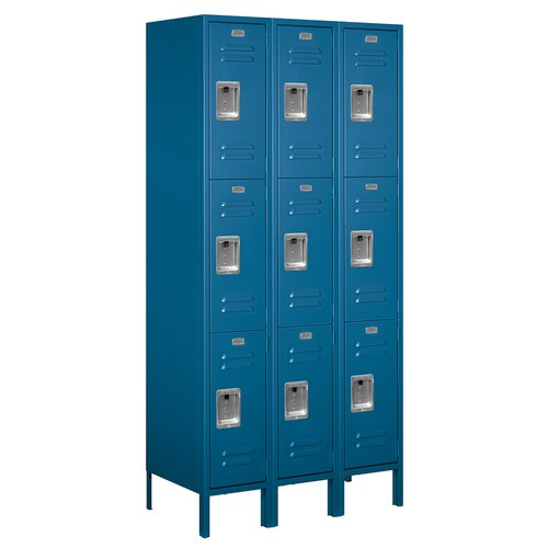 Salsbury Industries 3 Tier 3 Wide Employee Locker
