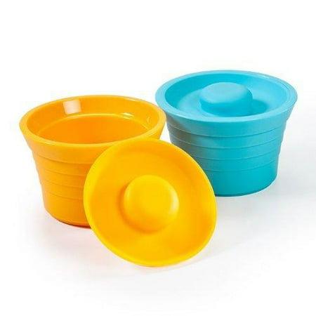 Kinderville Little Bites Storage, Jars BlueOrange