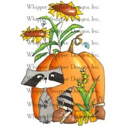 "Whipper Snapper Cling Stamp 4""X6""-Fall Friends"