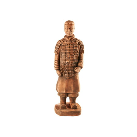 House Parts Replica Terra Cotta Warrior Commander Statue - Indoor/Outdoor Garden Accent and Lawn Ornament - Made in USA ()