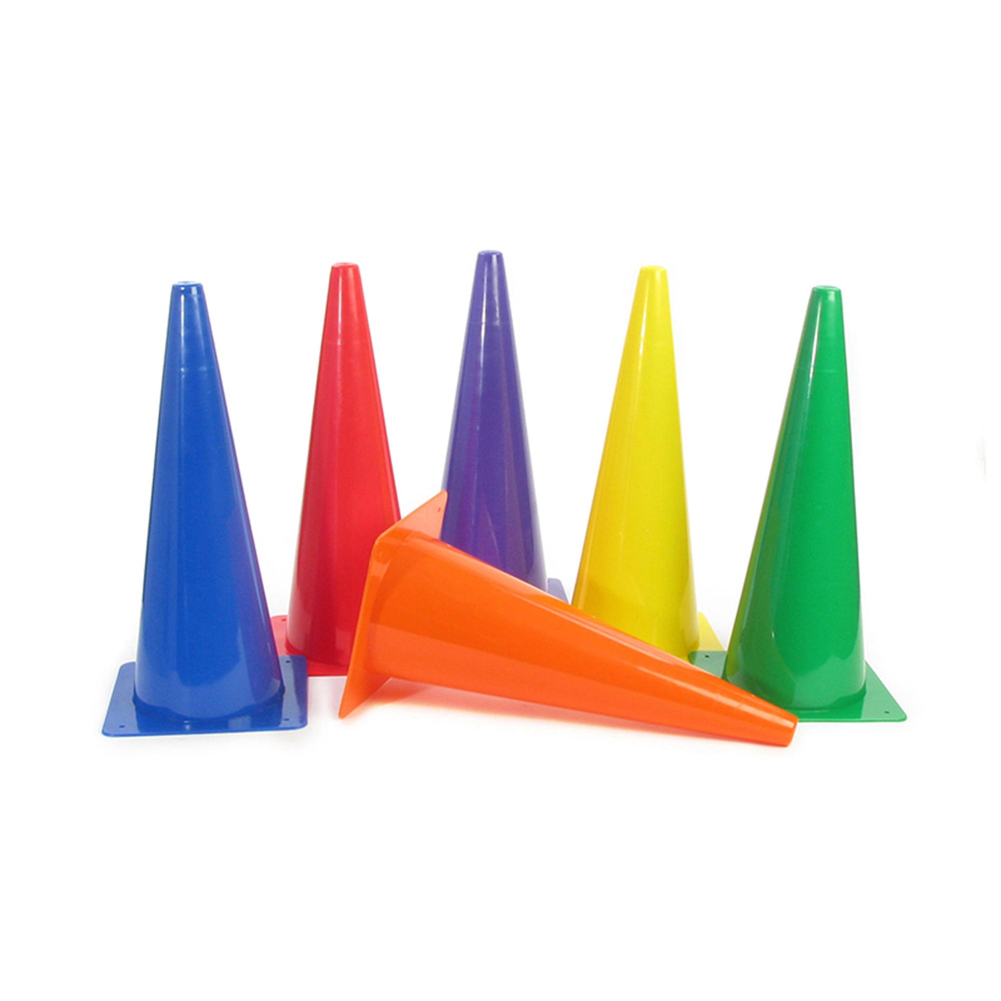 """Rigid Plastic Cones, 18"""", Set of 6"""
