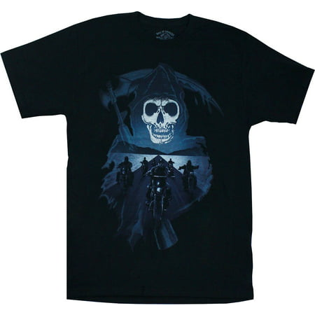 sons of anarchy reaper crew motorcycles shirt