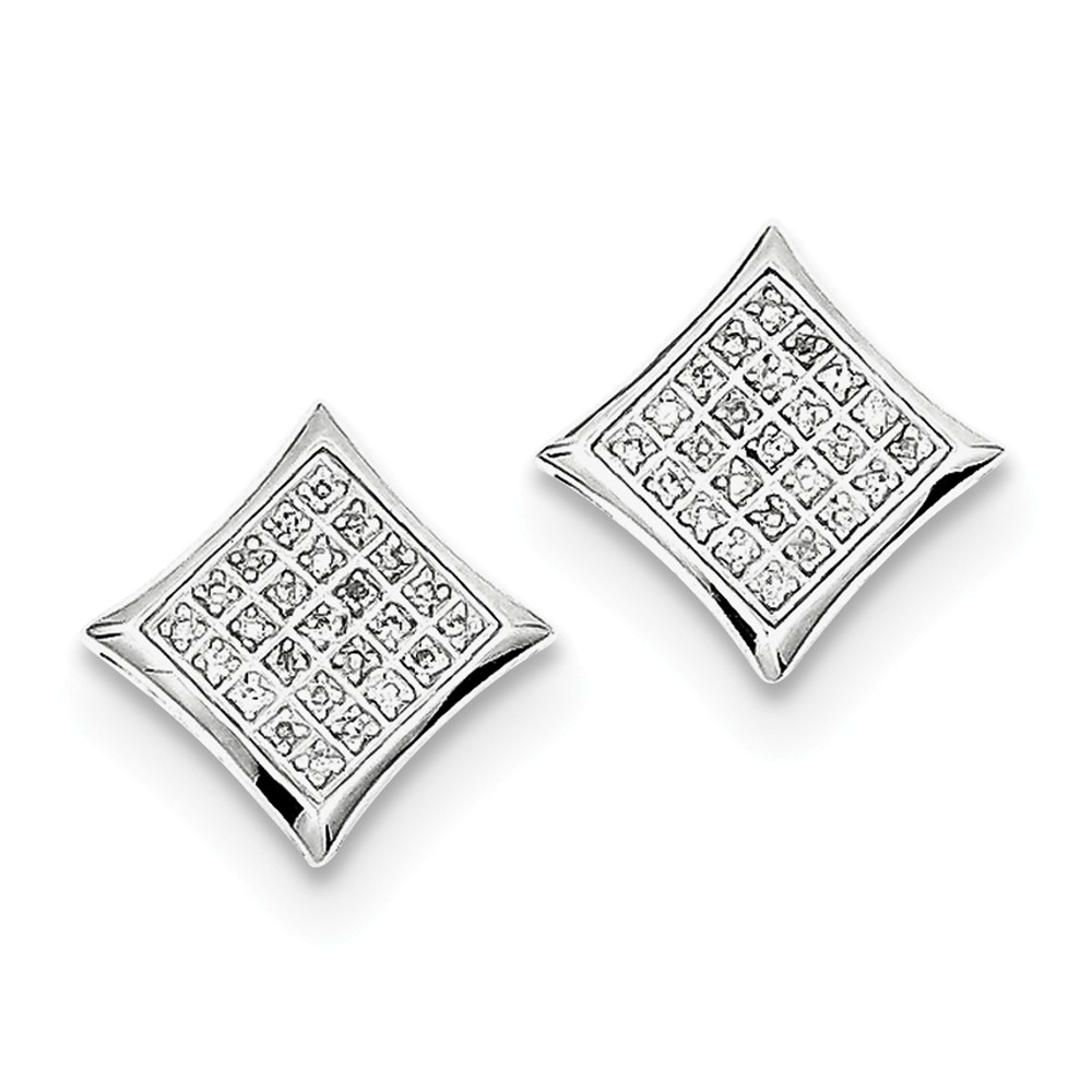 stud musti diamond cut large square collections studs by designs