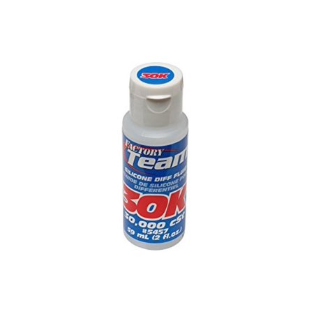 Associated Complete Differential - 5457 Silicone Differential Fluid, 30000CST, Replacement 5457 Silicone Differential Fluid 30000Cst for select Associated vehicles By Team Associated,USA