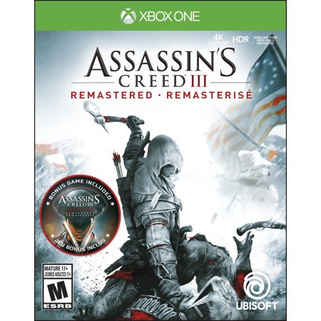 Assassin's Creed III Remastered, Ubisoft, Xbox One, 887256039394