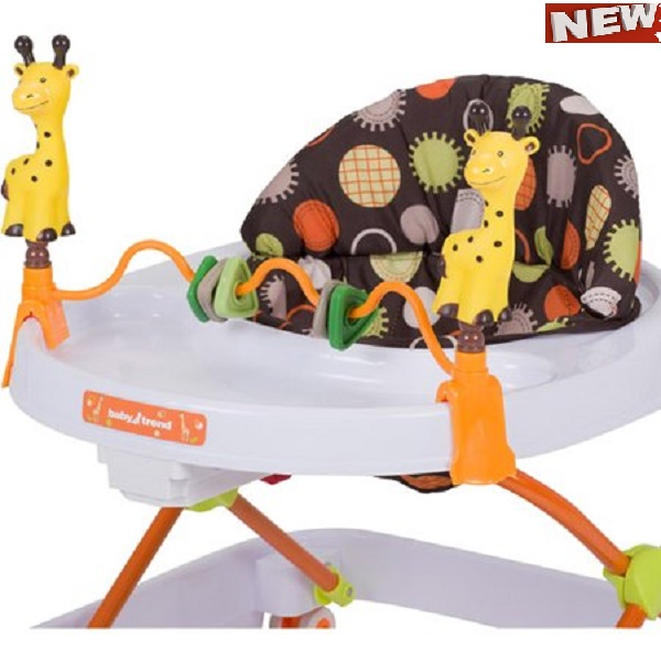 Item Baby Trend Walker, 3-position height adjustable Safari Kingdom by An item Baby Trend