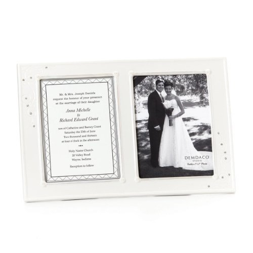 Demdaco From This Day Forward True Love Invitation And Photo Double Opening Frame 5 By 7inch Walmart Com Walmart Com