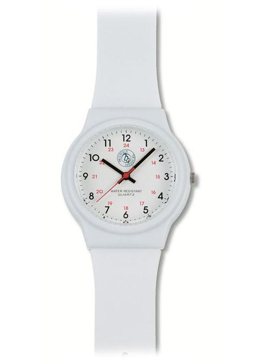 Prestige Medical Nurse Basic White Scrub Watch 1770