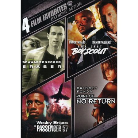 4 Film Favorites  Extreme Action  Eraser   The Last Boy Scout   Passenger 57   Point Of No Return  Widescreen