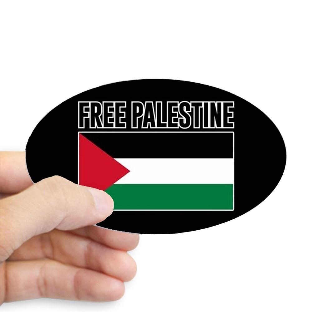 """3/"""" x 12/""""  Palestine Bumper Sticker// Palestine Sticker"""