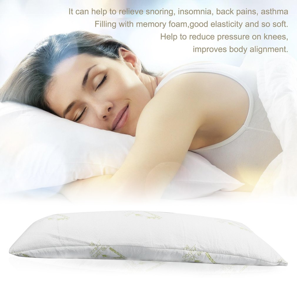 comfortable long adults memory foam full body pillow good elasticity sleeping pregnancy pillow