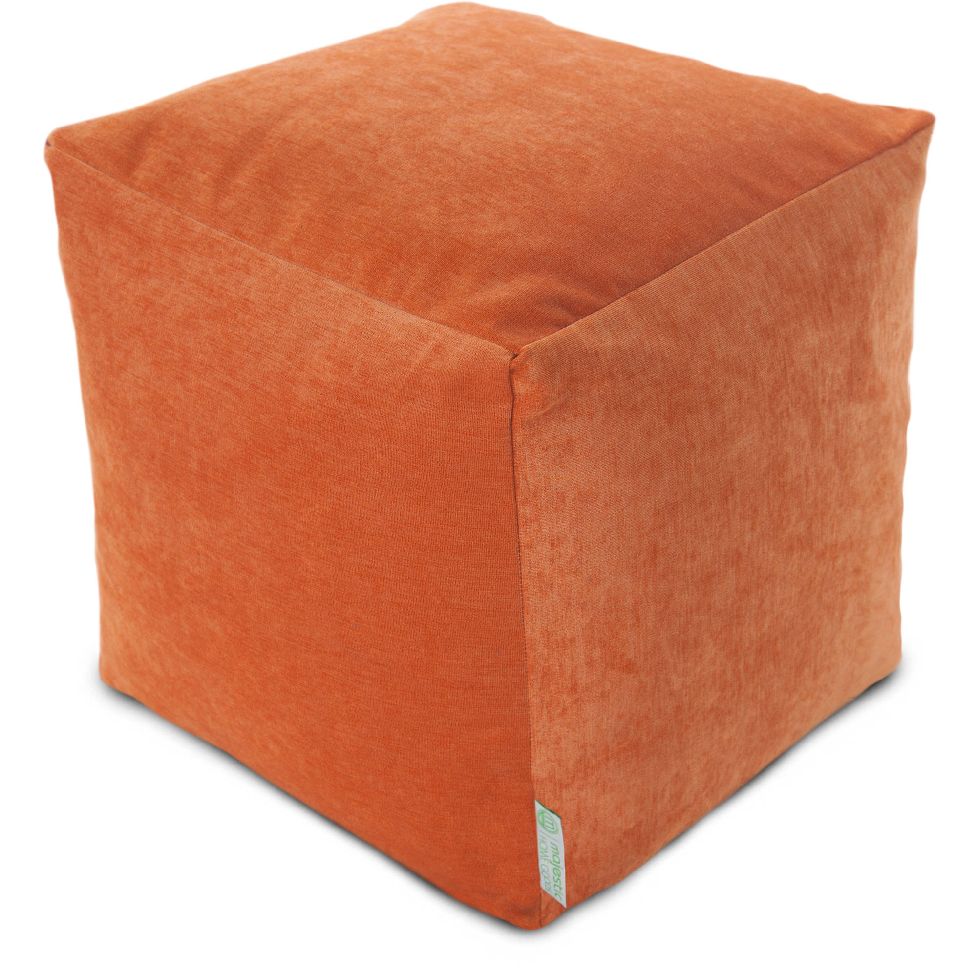 Majestic Home Goods Villa Bean Bag Cube