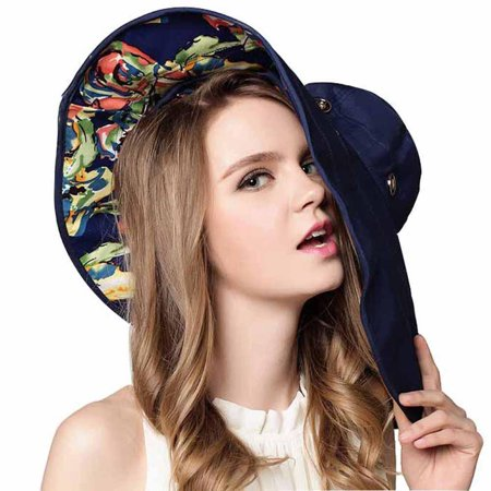 Noroomaknet Womens Hats Wide Brim Beach Hat Sun Hat Foldable Summer  Sunshade Hat For Women - Walmart.com 727dab51c196