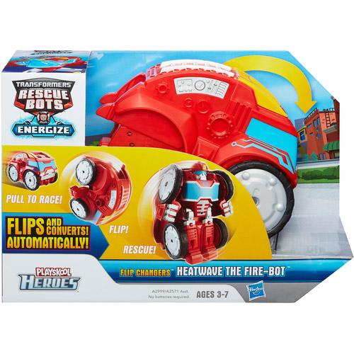 Playskool Heroes Transformers Rescue Bots Flip Changers Heatwave the Fire-Bot Figure
