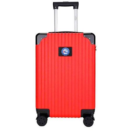 Philadelphia 76ers Premium 21'' Carry-On Hardcase Luggage - Red
