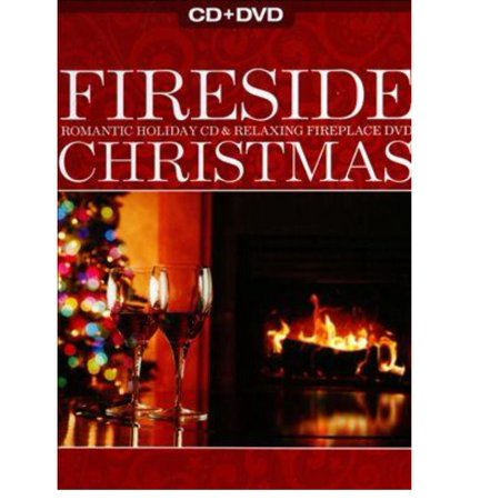 REFLECTIONS Fireside Christmas: Romantic Holiday CD & Relaxing Fireplace DVD