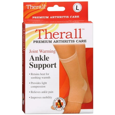 Therall Joint Warming Ankle Support Large 1 Each