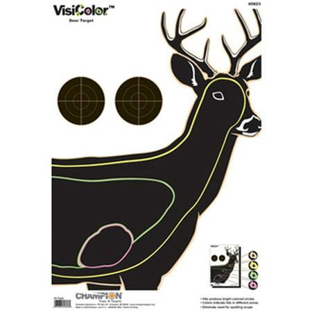Deer 3d Target (Champion VisiColor Targets, Deer, 10-Pack)