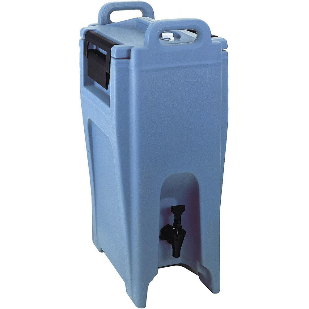 Cambro 5.25 Gal. Insulated Beverage Dispenser, Ultra Camtainer, Slate Blue, UC500-401