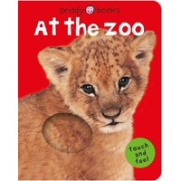 Bright Baby Touch & Feel at the Zoo (Board Book)