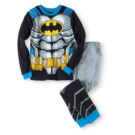 Batman Boys' Cotton Tight Fit Pajama 2-Piece Set