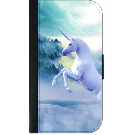 promo code a0c82 09332 Mystical Unicorn - Wallet Flip Style Phone Case Compatible with the Apple  iPhone 7 Plus / Apple iPhone 8 Plus (7+,8+) Universal