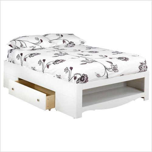 Dixie/Pixel 2-Drawer Storage Bed-Size:Full
