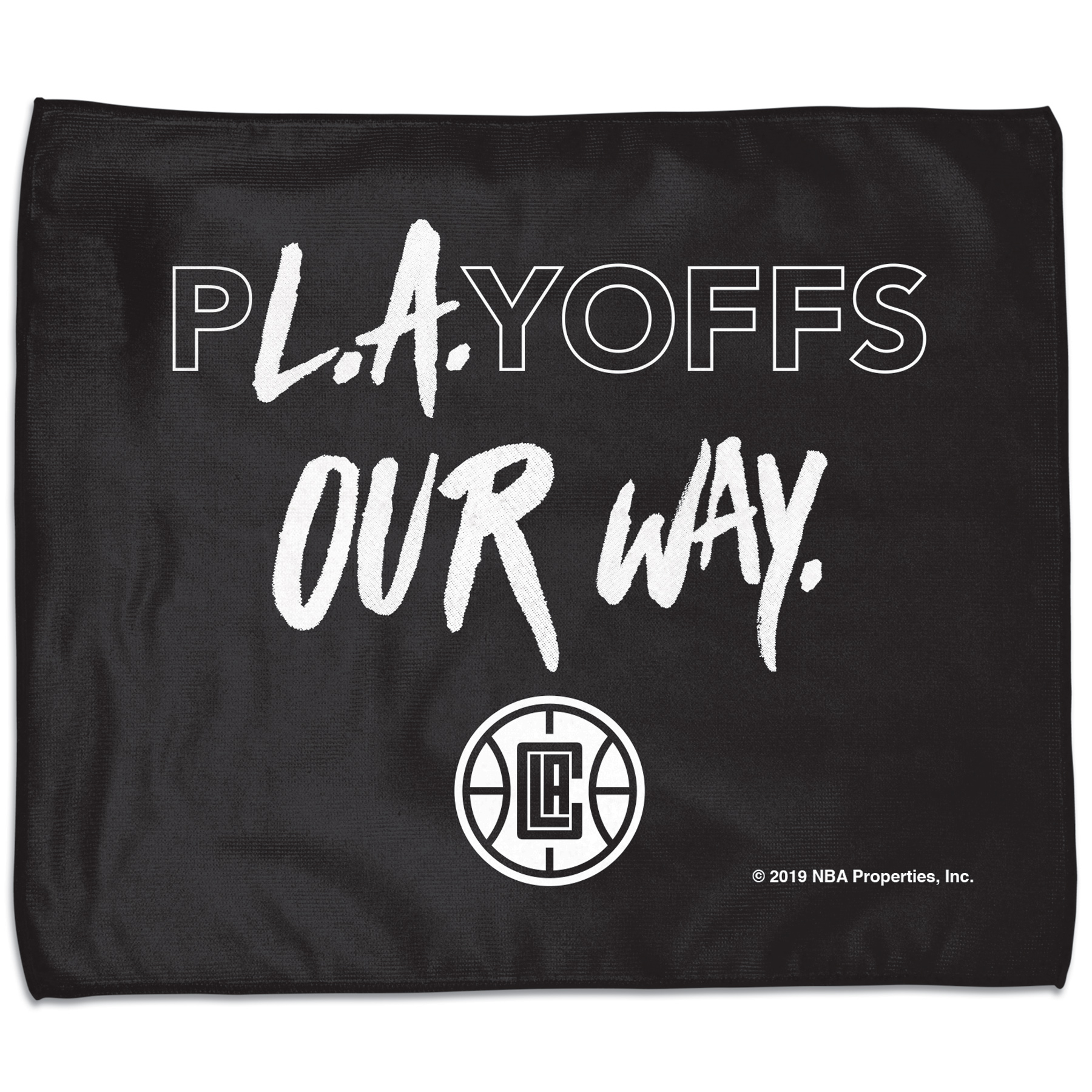 LA Clippers WinCraft 2019 NBA Playoffs Bound 15'' x 18'' Slogan Rally Towel - No Size