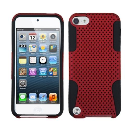 Insten Red/Black Astronoot Phone Case for APPLE: iPod touch (5th 6th Gen 5 6)