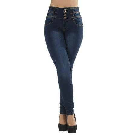 Plus Size High Waist Jeans (Plus Size, Butt Lifting, Levanta Cola, High Waist, Skinny Jeans )